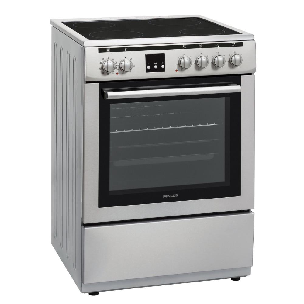 Κουζίνα με κεραμικές εστίες, FLCM 6000A IX, Finlux