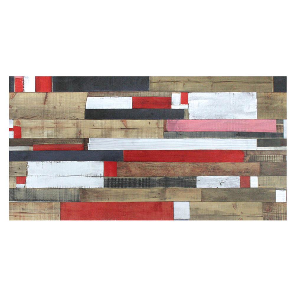Πάγκος Τοίχου από 40 - 365/60/8, Rustik κόκκινο, Genomax
