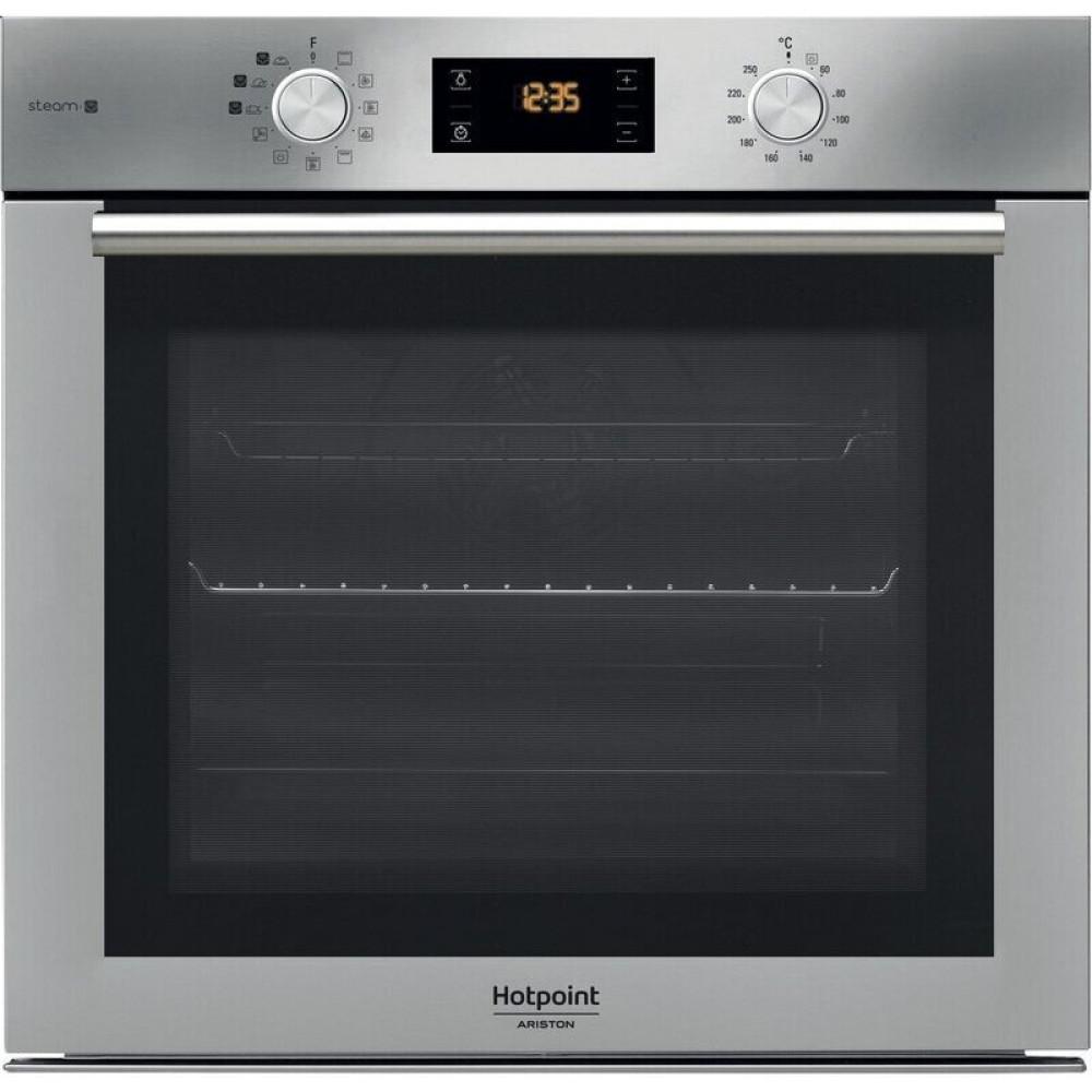 Εντοιχιζόμενος φούρνος, FA4S841J IX HA, 7Ι l,  A+, Hotpoint-Ariston