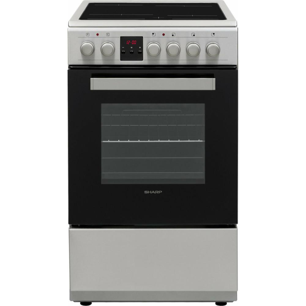 Ηλεκτρική κουζίνα με Κεραμικές Εστίες 50lt, KF-56FVDD221M-CH, Sharp