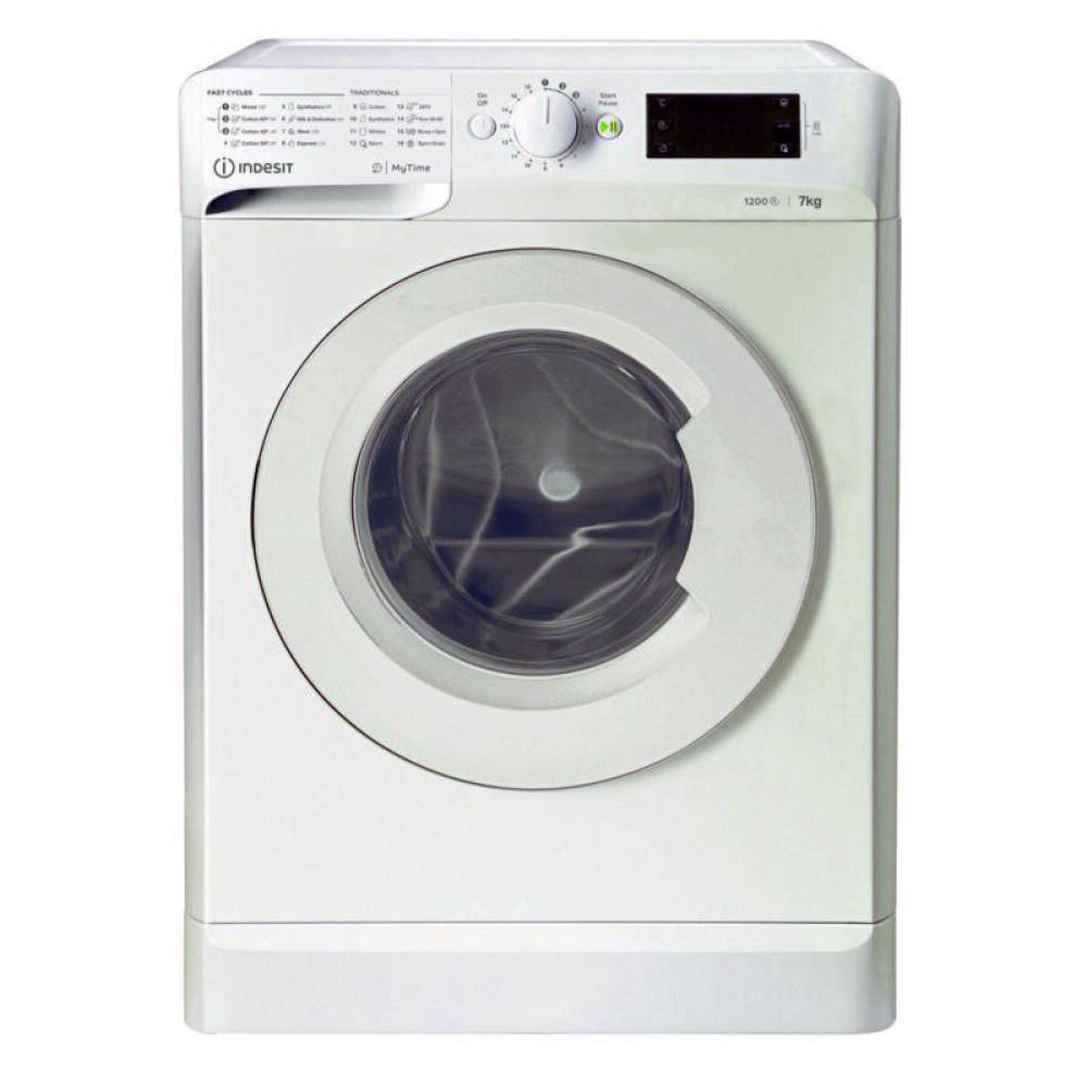 Πλυντήριο ρούχων 7 kg, MTWE 71252 W EE, 1200rpm, E, Indesit