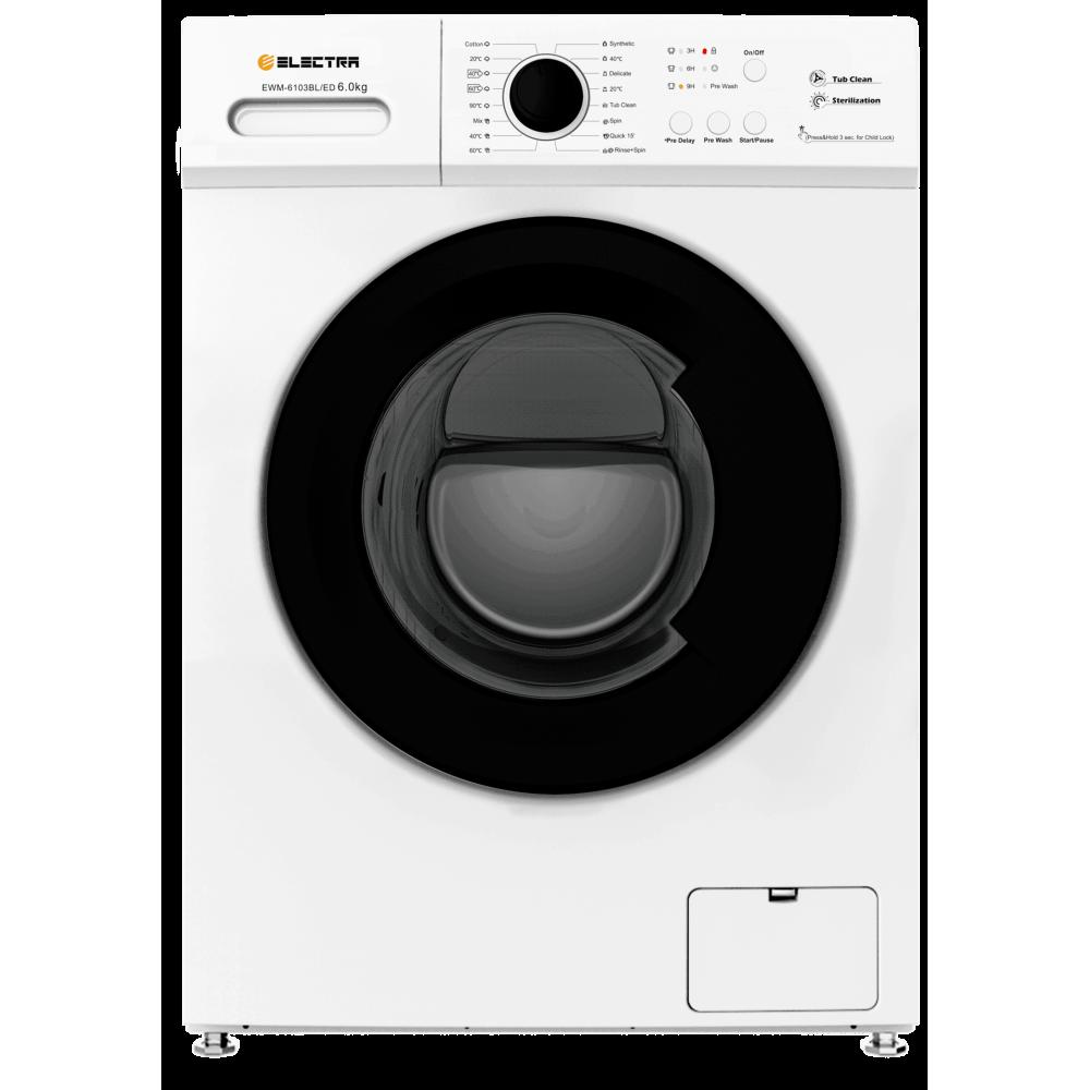 Πλυντήριο ρούχων 6kg E,  EWM-6103BL/ED , Electra