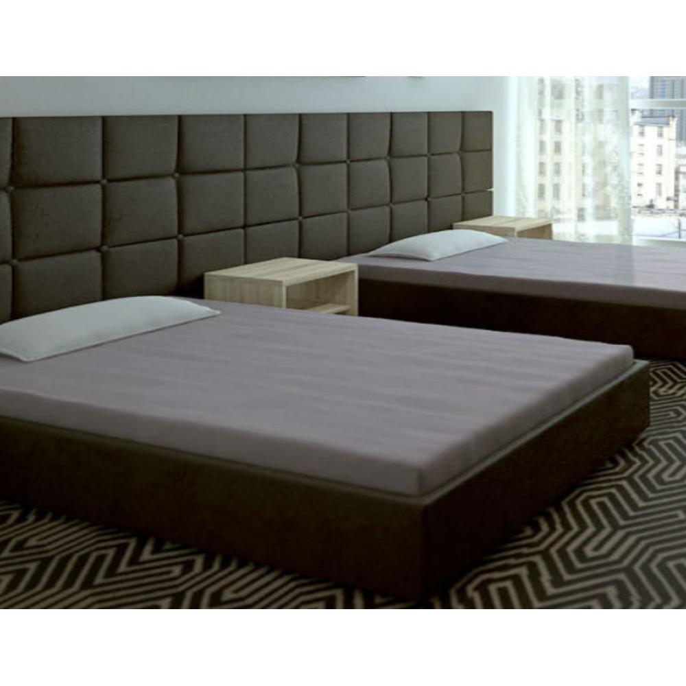 Κρεβάτι επενδυμένο με οικολογικό δέρμα 100/200 με Μηχανισμό
