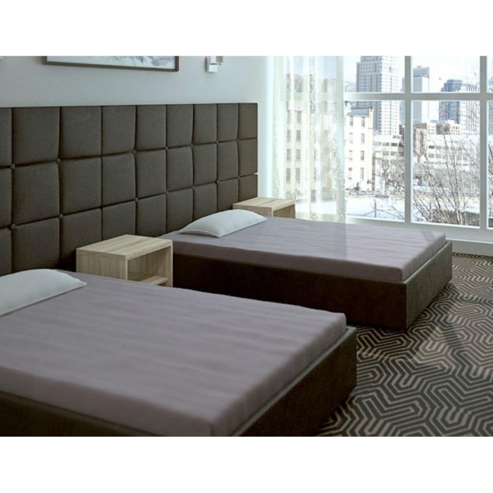 Κρεβάτι μπαούλο επενδυμένο με οικολογικό δέρμα 100/200