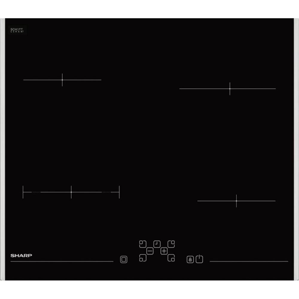 Εντοιχιζόμενη κεραμική εστία, KH-6V08FT00, Sharp