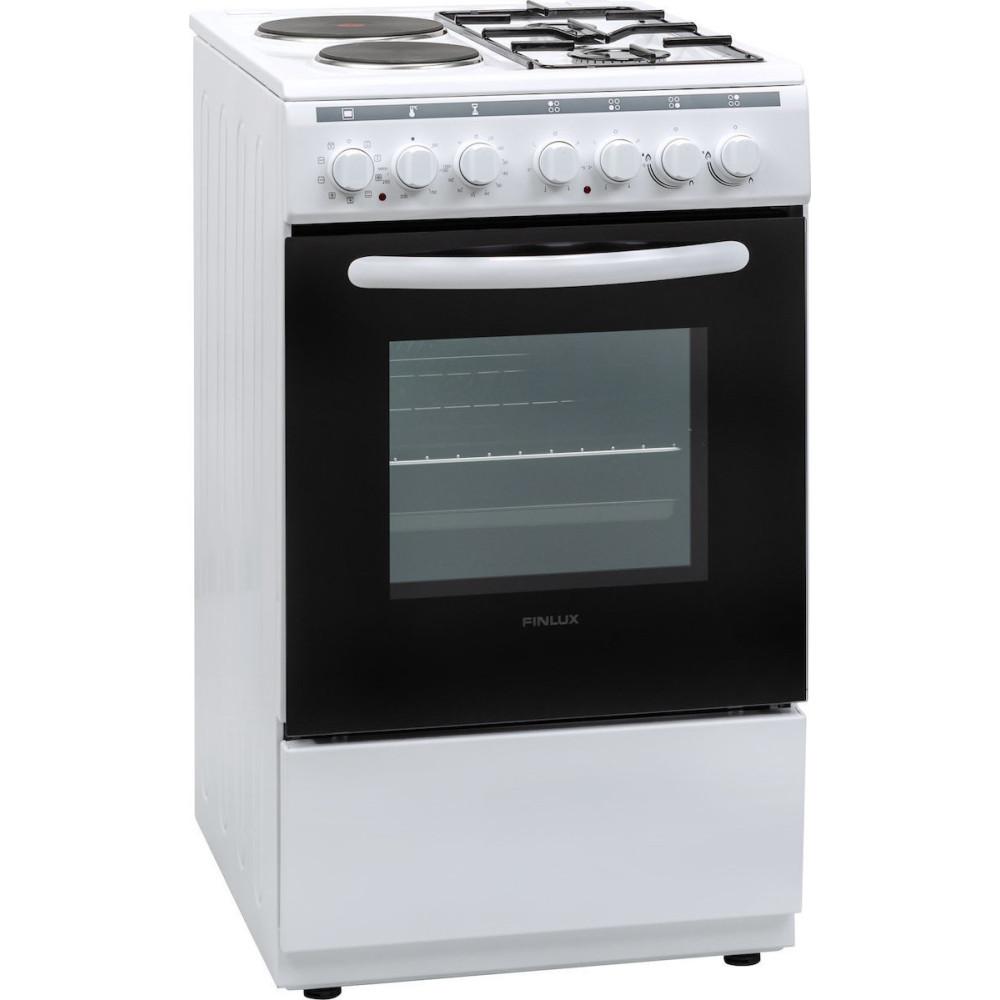 Κουζίνα Μικτή Finlux FXC 522M White