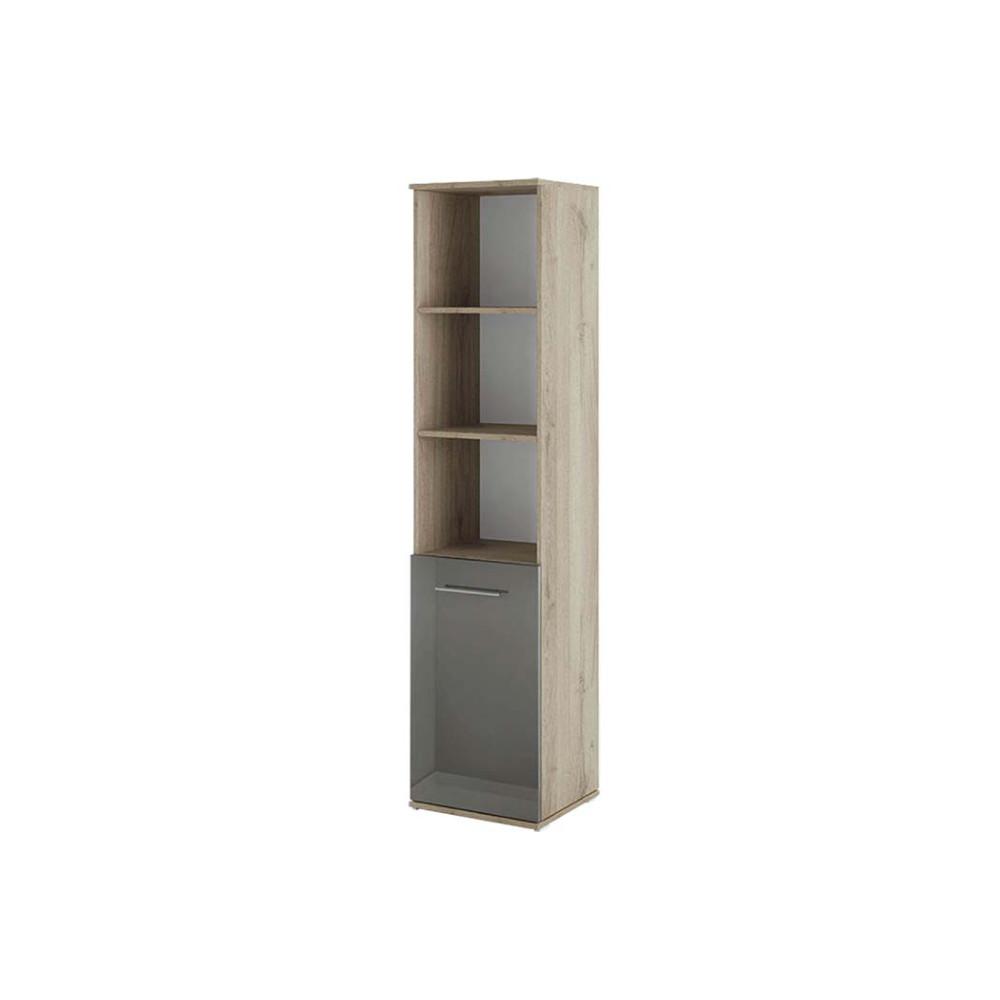 Βιβλιοθήκη με πόρτα 40x36x175.5, Modul 62, Genomax