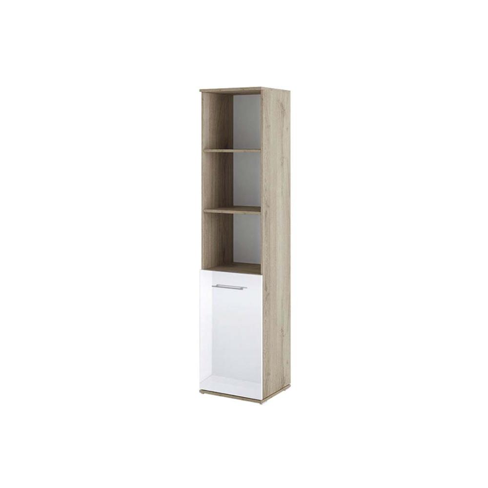 Βιβλιοθήκη με πόρτα 40x36x175.5, Modul 83, Genomax