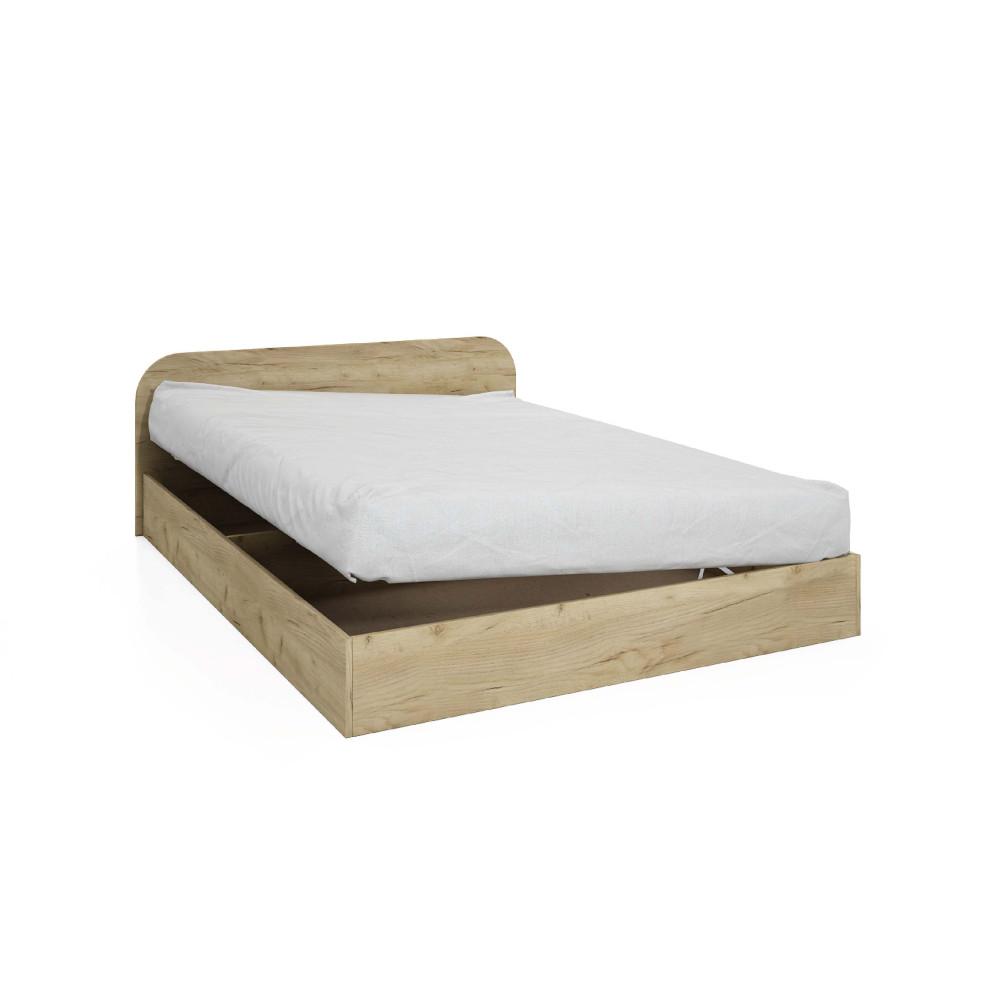Κρεβάτι μπαούλο ημίδιπλο 120/190 1212011, Genomax