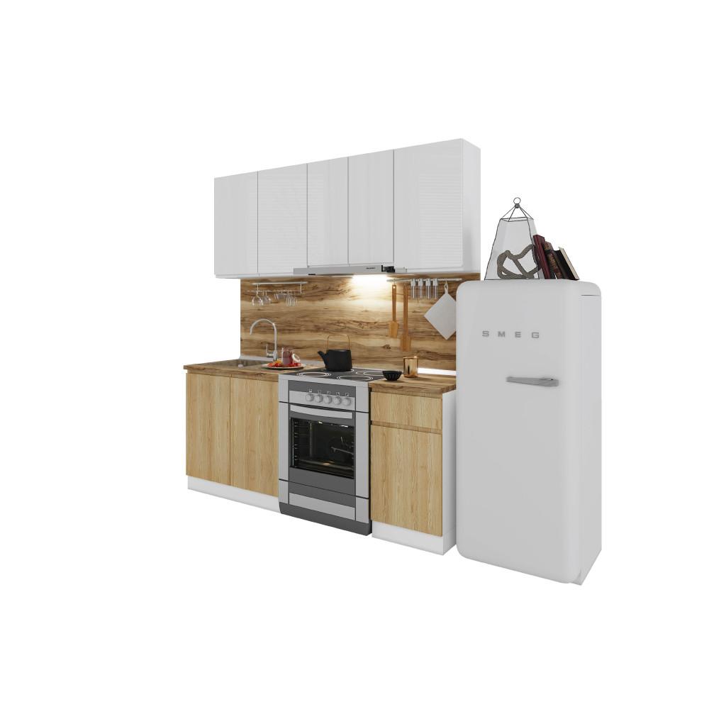 Σύνθεση Κουζίνας μήκος 2.60 μ, Ultra 260, Genomax