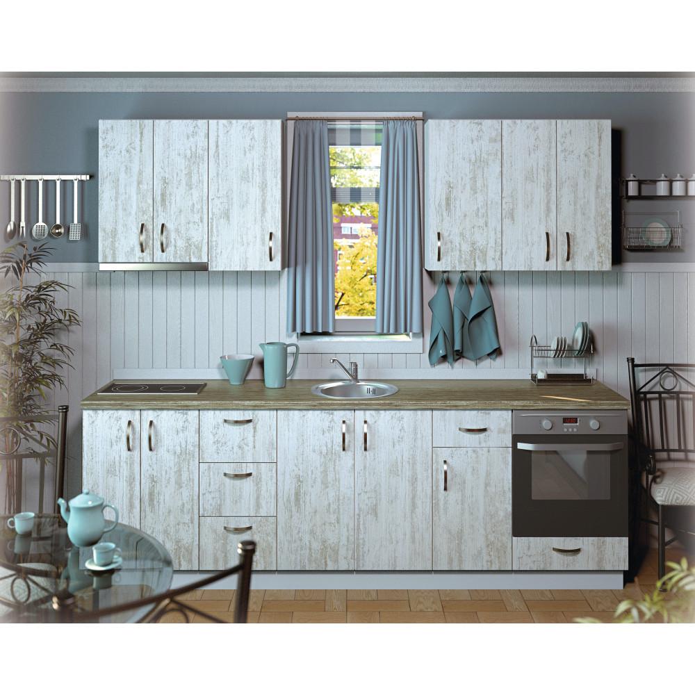 Σύνθεση Κουζίνας μήκος 4.80 μ, Luxury 280, Genomax