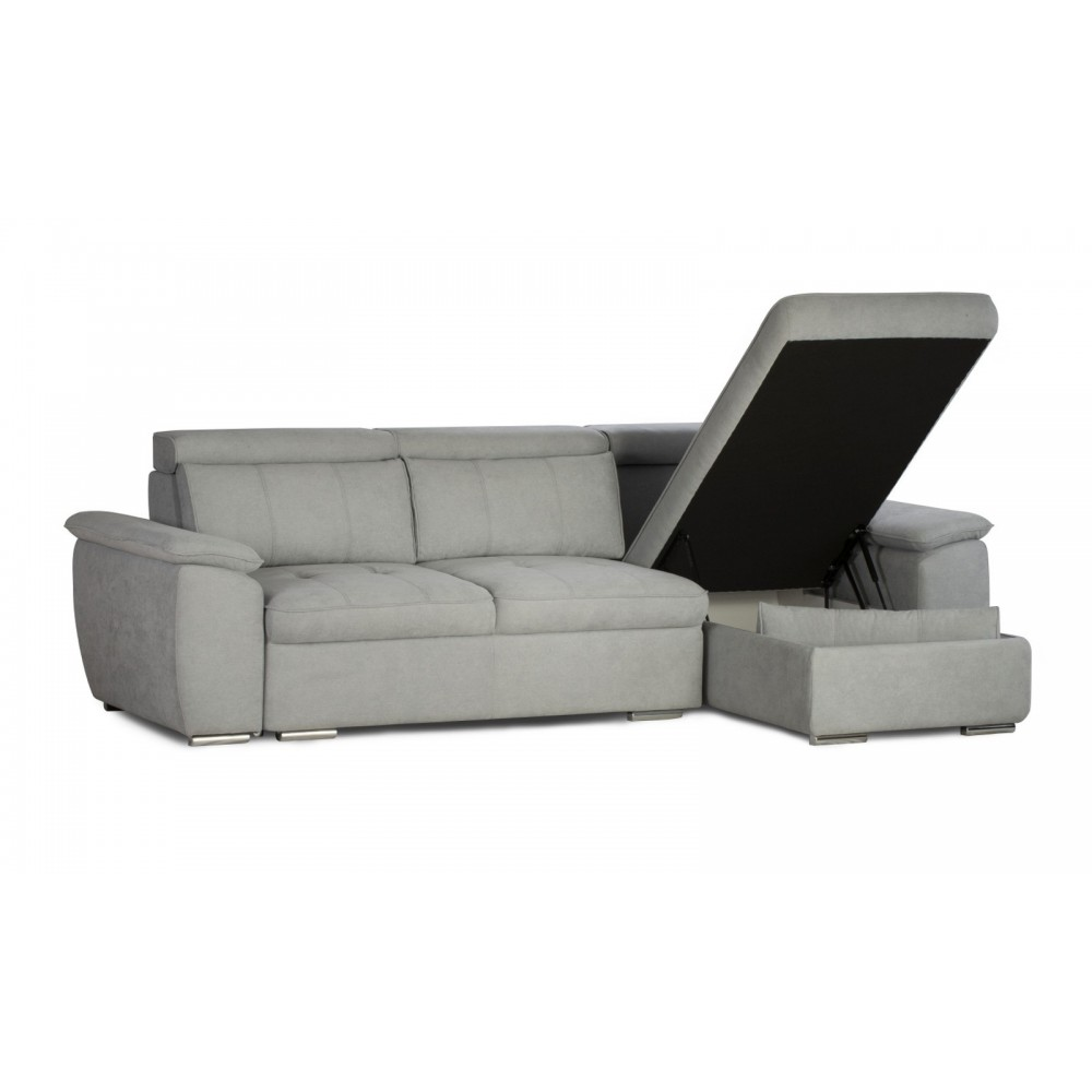 Γωνιακός Καναπές Κρεβάτι 290/102/175 εκ. Imola
