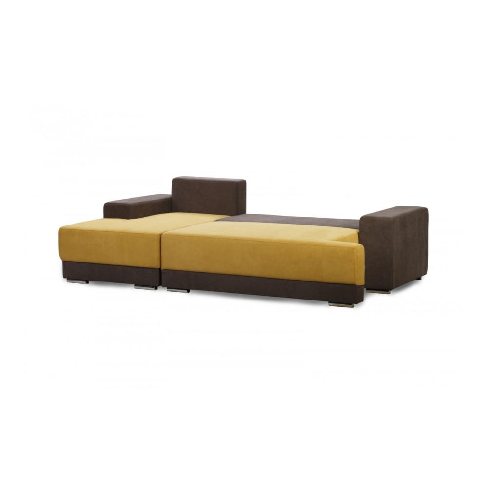 Γωνιακός Καναπές με Δεξιό Κρεβάτι 255/90/153 εκ. Santa Fe