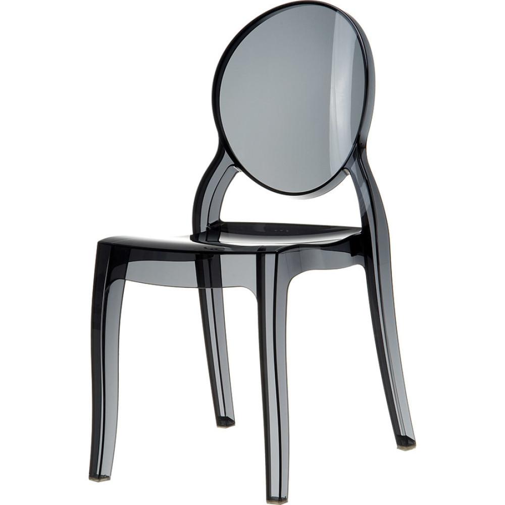 Καρέκλα Elizabeth Διαφανής, Πολυανθρακικό, Genomax