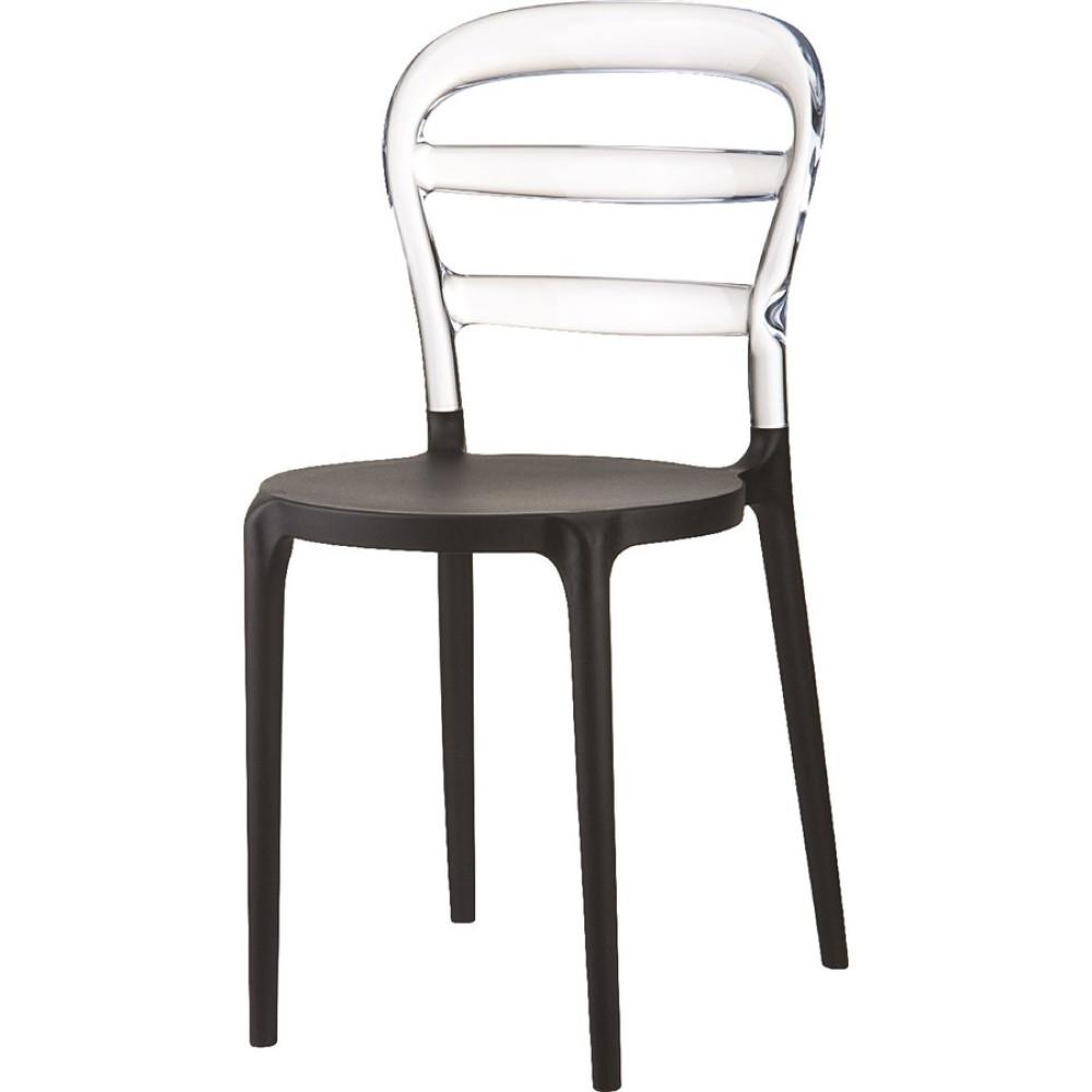 Καρέκλα Miss Bibi, Πολυανθρακικό, Genomax