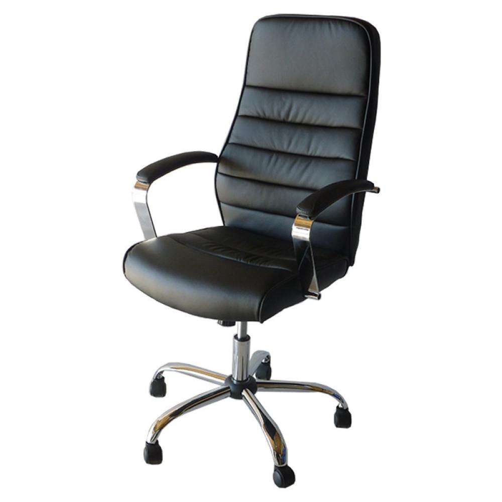 Καρέκλα Γραφείου 160, Μαύρο, Genomax
