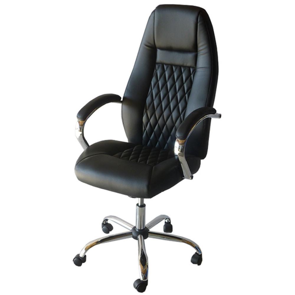 Καρέκλα Γραφείου 807, Μαύρο, Genomax