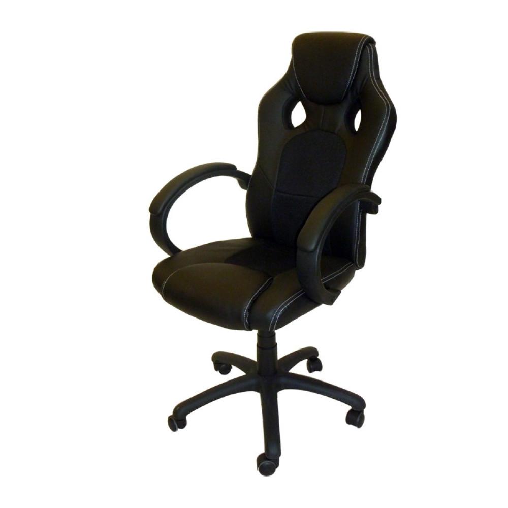 Καρέκλα Γραφείου 8520, Μαύρο, Genomax