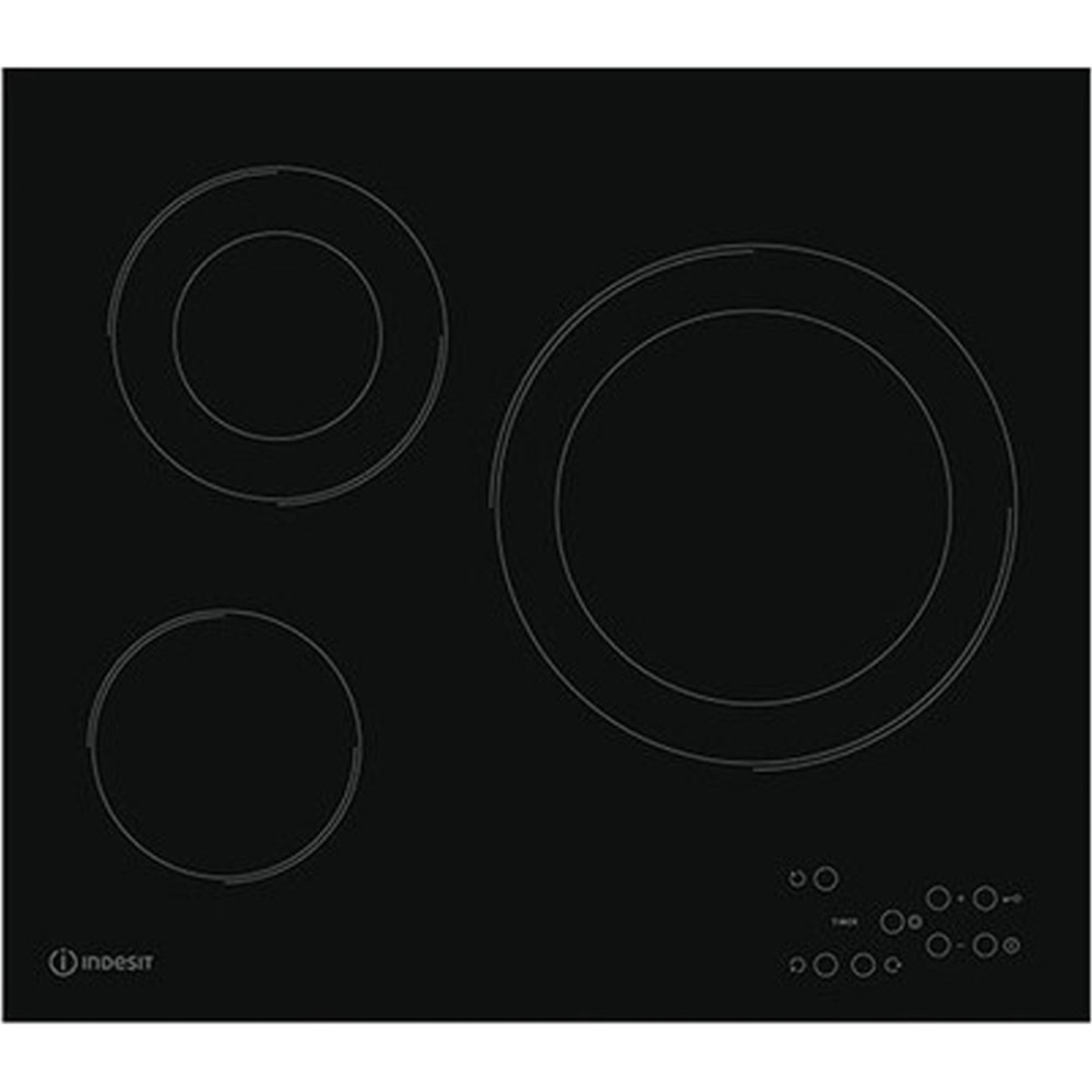 Εντοιχιζόμενη αυτόνομη κεραμική εστία, RI 360 C, Indesit