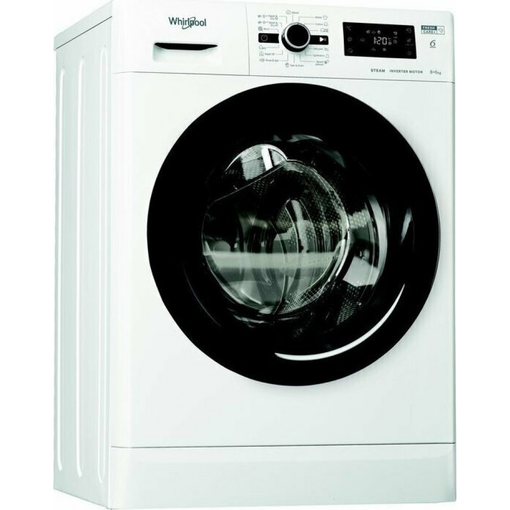 Πλυντήριο Στεγνωτήριο Ρούχων, FWDG 861483 WBV EE N, Whirlpool