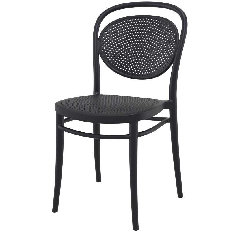 Καρέκλα Marcel, Genomax - Λευκό